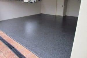 Black Marble Garage Floor