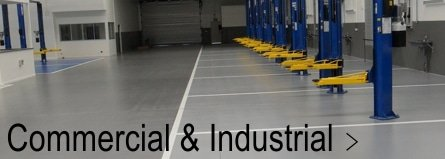 Commercial and Industrial Garage Flooring